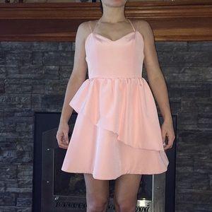 Keepsake blush pink semi formal dress Size S